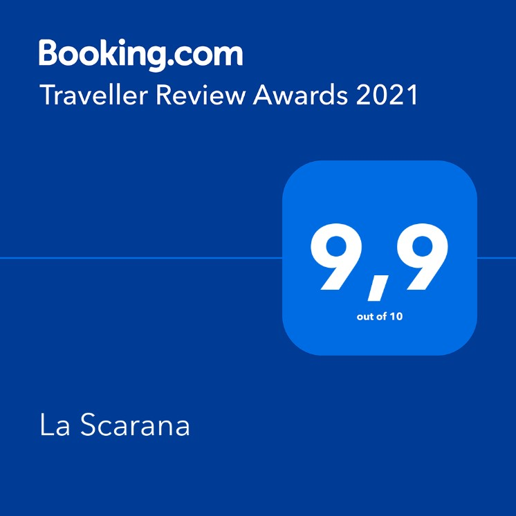 Booking.com 2021 award
